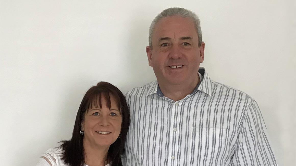 Clive & Debbie Sharpe